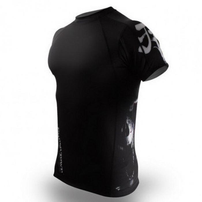Рашгард PunchTown Deranged Rash Guard Short Sleeve (PT-RG-SDER) р. XL